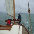 First sail to Cowes