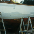 Gashed starboard side